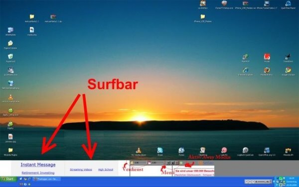 Another example of surfbars that are displayed on your desktop.