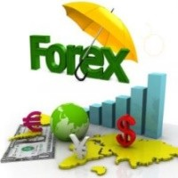 Illustration image for the largest financial market - Forex.