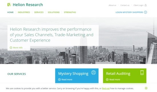 At the moment, the helionresearch.com website is available only in the English language.