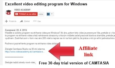 An excellent video editing software.
