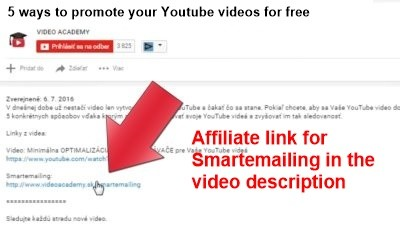 Affiliate link for smartemailing in the video description.