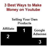 3 best ways to earn money on YouTube.