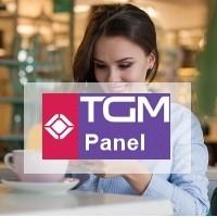 TGM panel logo.